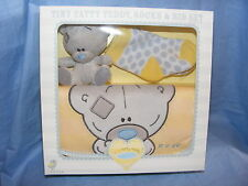 Me To You Bear Tiny Tatty Teddy Gift New Baby Bib And Bear Set Present G92G0033
