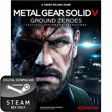 Metal Gear Solid V 5 terreno ceros Pc Steam Key