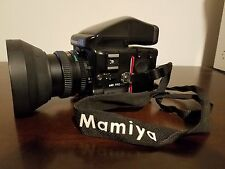 Mamiya 645 Pro-TL Medium Format SLR Film Camera, 80mm lens, 150mm lens, Case