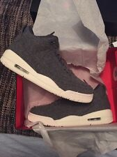 Nike Air Jordan 3 Wool Grey Bred IV 4 1 90 Rare Deadstock Size Uk 7.5 Cement
