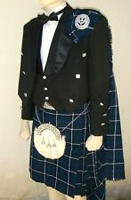 21 pcs | Scottish Prince Charlie Jacket, Vest and Kilt outfit set | PCJK21