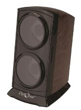 Diplomat Automatic Economy Double Dual Watch Winder Tower Burlwood