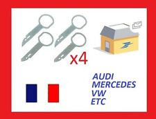 4 x Chiavi di estrazione autoradio AUDI A3 RNSE CONCERT 3 SYMPHONY 3