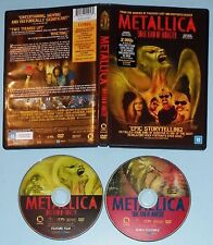 METALLICA - SOME KIND OF MONSTER 2DVD - DOUBLE W/ STICKER - BRAZIL - MEGA RARE