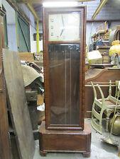 ancienne horloge de parquet epoque art deco junghans carillon pendule