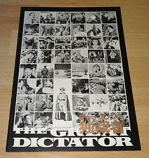 Der große Diktator/The Great Dictator - Charlie Chaplin- Japan Souvenir Program