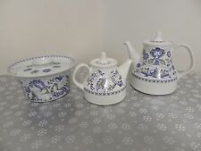 Lotte Norway 3 Pc Lot Turi Design Figgjo 2 Rare Teapots Covered Casserole Dish