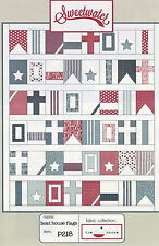 Quilt Pattern ~ BOAT HOUSE FLAGS ~ By Sweetwater