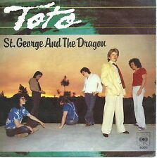 "Toto - St. George And The Dragon (7"" CBS Vinyl-Single Schallplatte Germany 1979)"