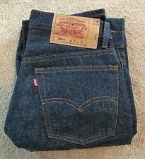 NEW Deadstock Vintage LEVI 501 Button Fly Made In USA Denim Jeans 30x36
