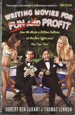 WRITING MOVIES FOR FUN & PROFIT, by Garant & Lennon - nonfiction HC, NM