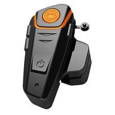 1000m BT-S2 Motorcycle Helmet Bluetooth Headset Motorbike Intercom Waterproof