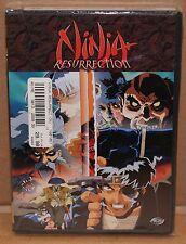 Ninja Resurrection - Revenge of Jubei/Hell's Spawn (DVD, 1999) Horror ANIME NEW