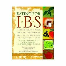 Eating for IBS: 175 Delicious, Nutritious, Low-Fat, Low-Residue Recipe-ExLibrary