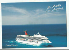 ms Carnival Victory.. Cruise ship ..pc    Cruising to St. Maarten