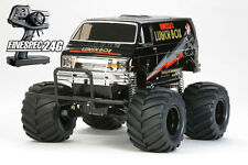 Tamiya 57849 1/12 RC RTR Lunch Box Black Edition XB Build Ready To Go , 58546