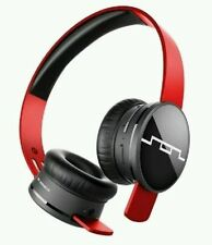 Brand New Sol Republic Tracks Air Wireless Bluetooth Headphone Vivid Red SR1430