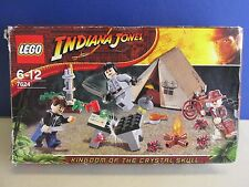 7624 LEGO INDIANA JONES DUELLO GIUNGLA SERIE COMPLETA LOTTO Inc MINIFIGURES c97