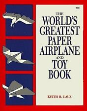 The World's Greatest Paper Airplane and Toy Book-ExLibrary