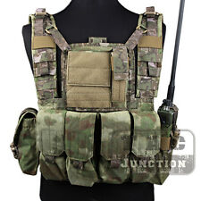 Emerson Tactical MOLLE RRV Rhodesian Recon Vest Chest Rig Plate Carrier w/ Pouch