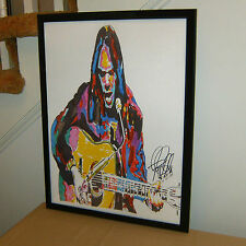 Neil Young, Singer, Guitar, Lead Guitarist Crazy Horse, CSNY, 18x24 POSTER w/COA