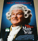 ROBIN WILLIAMS AUTO AUTOGRAPH SIGNED MAN OF THE YEAR MOVIE POSTER COA SGC RARE!