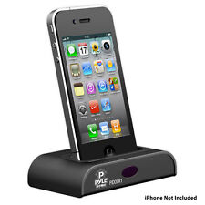 NEW Pyle PIDOCK1 Universal iPod/iPhone  Dock For Audio Charging W/Remote control