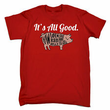 It's All Good Pig T SHIRT JNR funny pork meat butcher fashion bbq tee barbecue