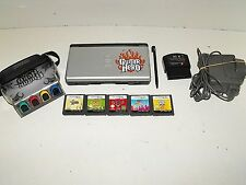 """Nintendo Ds Guitar Hero Console With Games & Charger """"GWO"""""""