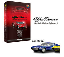 NEW KYOSHO Alfa Romeo Minicar Collection 4 Montreal blue (2-1)