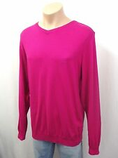 NEU PAUL&SHARK Yachting Designer Pullover Gr.L 52 100% Baumwolle Fuxia Pink 2642