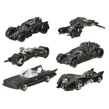 BATMAN Set 6 Modellini 1:64 SERIE 2 Hot Wheels DIE CAST Batmobile Dark Knight