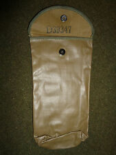 WW2 Era Rubberized Cleaning Supply Pouch For M1 Garand Rifle Or M1 Carbine NOS