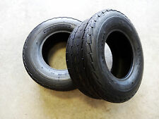 TWO NEW 6 ply 20.5X8.0-10 Deestone D268 Trailer Tires 20.5X8.00-10