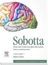 Sobotta, Atlas der Anatomie des Menschen  Heft 9: Gehirn und Rückenmark