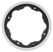 Lambretta LI 125 150 SIP Black & Polished Edge Tubeless Wheel Rim Kit