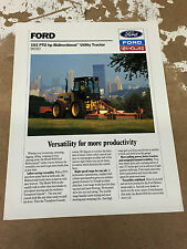 Ford 9030 Bidirectional Utility Tractor Leaflet