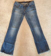 Seven 7 Bootcut Stretch Distressed Size 29 27x28 Women Ladies NWOT New