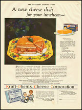 1929 vintage food ad, Philadelphia Cream Cheese, Kraft-Phenix Cheese corp-122012