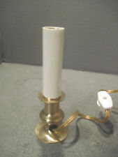 Electric Candle Lamp, Brass Plated Holiday Beautiful Lamp, NEEDS BULBS