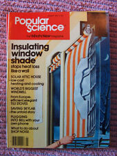 Popular Science Jan. 1979, solar attic house, insulating window shades, skylab