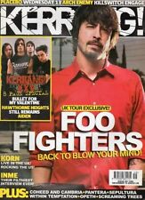 KERRANG MAGAZINE#1086 FOO FIGHTERS PLACEBO KORN COHEED & CAMBRIA AIDEN INME