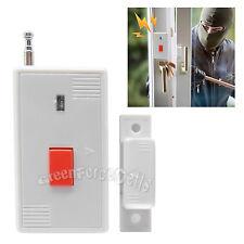 Wireless Door Window Magnetic Sensor Detector Alarm Entry Burglar Panic Button