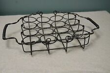 Vintage Wire Basket Primitive Rustic Farm Barn Decor
