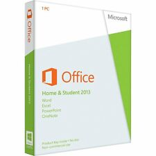 OFFICE HOME AND STUDENT 2013 WITH WORD, EXCEL, POWERPOINT & ONE NOTE 79G-03550
