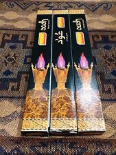 *3 Packs* of SANDESH - OUDH oud incense sticks - Made in INDIA