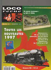 LOCO REVUE N° 601 ECHELLE WZ / UN Y 5113 / RIVAROSSI 141R / PONT RAIL METALLIQUE