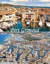PORT GRIMAUD  - Travel Souvenir Fridge Magnet