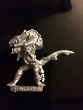 WARHAMMER 40 k piscean Shark guerrier saharduin Ltd version rare games workshop