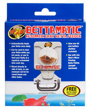 ZOO MED BETTAMATIC DAILY FEEDER AUTO FEED BETTA FISH NEW FREE SHIP IN THE USA